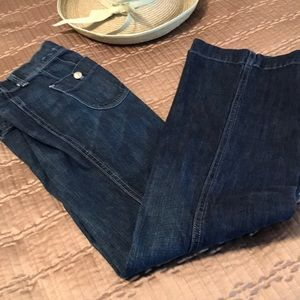 American Eagle jeans, flared leg, size 4 R